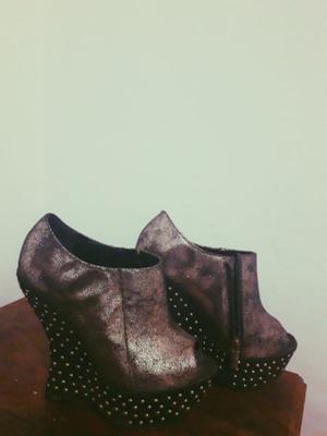 Zapato fiesta 'CHOCOLATE' TALLE35