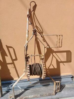 Andamios balancín y cables
