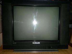 Tv Noblex 21 Pulgadas Pantalla Plana Casi Sin Uso C/control
