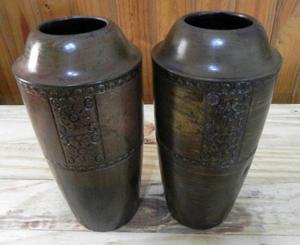 Vasija Florero Urna de Bronce para Adorno Ceremoñas