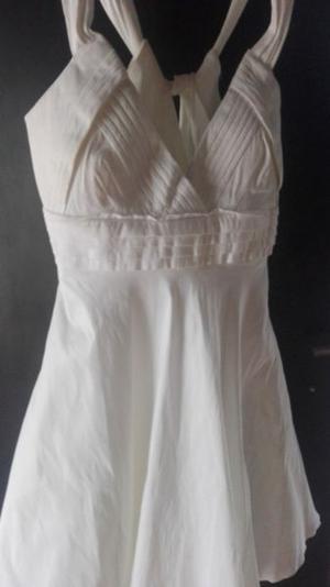 Vendo vestido blanco