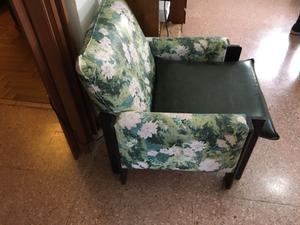 Juego de sillones de cuerina