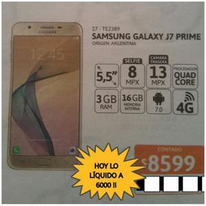 Samsung J 7 nuevo en caja vendo. Es el de la huella dijital