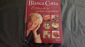 Libro de cocina de Blanca Cotta