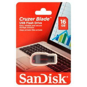 Pendrive Sandisk 16 Gb Cluzer Blade Leer Publicacion