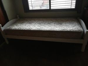 Cama 1pl c/ colchón
