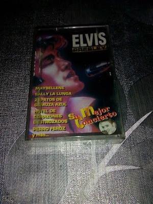 vendo o permuto, de colección cassete de Elvis su mejor
