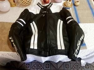 Campera Moto Pista Viaje Cuero Proskin Racing