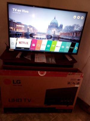 Smart Tv Led Lg 43uh60 4k Uhd Webos 3.5 Ips Netflix Ips