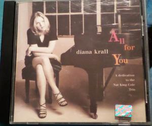 Diana Krall. All For You. Cd original