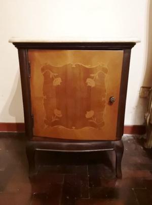 Juego de dormitorio antiguo estilo Luis XV - COMPLETO