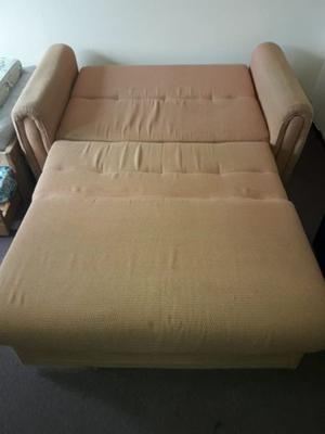 Sillón cama de 2 cuerpos