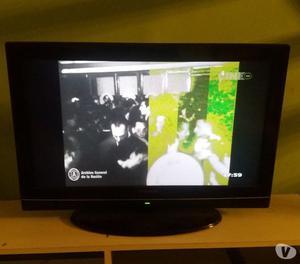 Tv Hitachi 32 Lcd - Con Una Linea Pixel - Excelente Estado!!