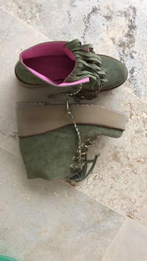 Botitas Zapatos De Mujer Sofia De Grecia