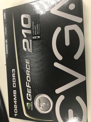 Placa de video GeForce 210 ddr3