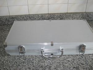 set de asado en caja 19 pzas sin uso
