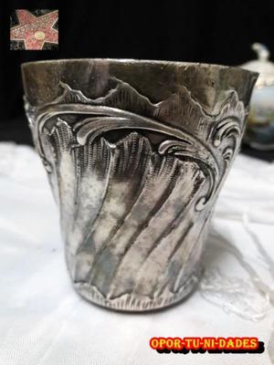 Antiquisimo Vaso Frances Art Noveau Gallia de