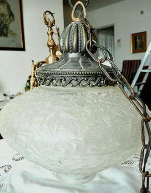 Lampara de colgar antigua (bronce) -