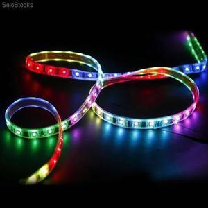 Tira Led RGB Multicolor c/Control Remoto Autoadhesiva