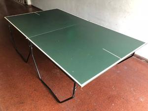 Mesa de ping pong reglamentaria y profesional completa