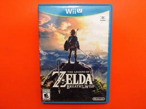 The Legend Of Zelda Breath Of The Wild para Wii U
