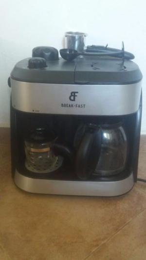 Cafetera dual exprés break-fast nueva sin uso, en su caja