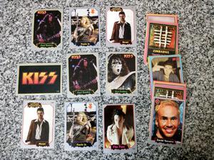 Vendo lote de 29 Rock Cards en perfecto estado