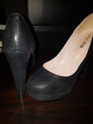 Zapato de fiesta negro Sibyl Vane