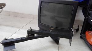 TV 20' de tubo, con soporte de pared de regalo