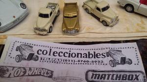 Coleccionables vende autos en escala *