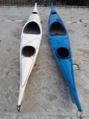 Kayak Parana Simple - Poco Uso - (chaleco+remo+cockpit)