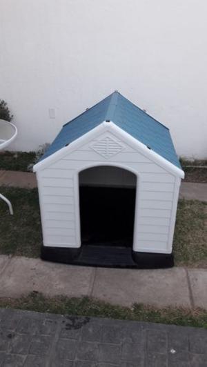 cucha casita para perros de raza grandes