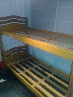 Cama cucheta de madera