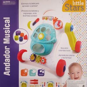 Caminador bebé Litlle Stars con luz y sonido + de 12 meses