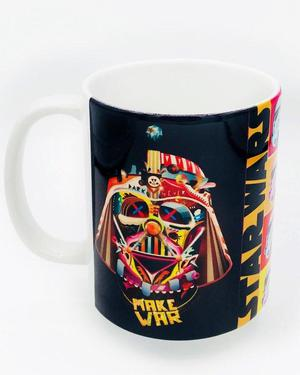 TAZA MUG STAR WARS RETRO COLOURS DARTH VADER