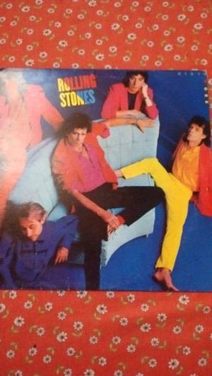 Tres discos de vinilo de los Rolling Stones