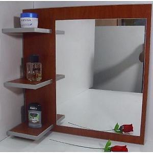 Vendo espejo con repisas nuevo