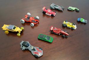 Lote de 10 Autos Infantil Juguete Plastico Moviles
