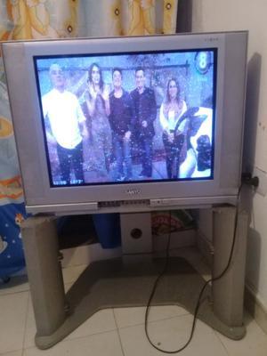 Televisor 29 pulgadas sanyo con mesita y led 24 LG