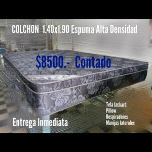 Vendo Colchon 2 1/2 plazas Espuma Alta Densidad