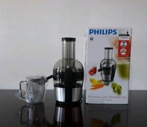 $ Vendo Juguera extractor Philips 700 w nueva