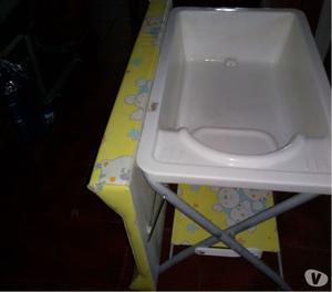 cambiador bañera para bebes plegable