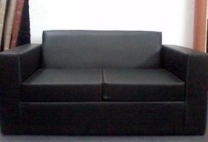 juego de sofa sillón cubo 2 cuerpos + 2 puff + mesa ratona