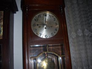 reloj antiguo carrillon de pared