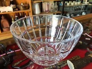 Bowl de cristal labrado
