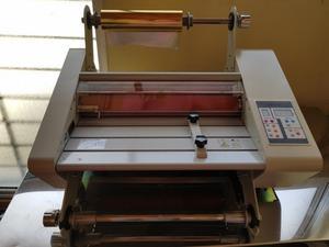 Laminadora Foil Hot Stamping para papel tarjetería