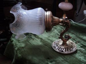 Antiguo aplique bronce. Antigua Saudade