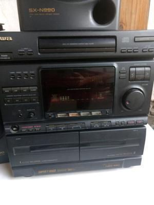 Minicomponente aiwa NSX 990 impecable