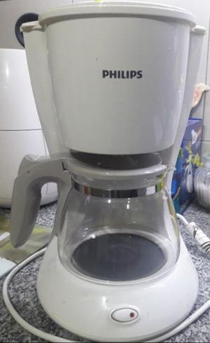 Vendo cafetera Philips Blanca