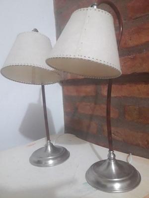 2 Veladores impecables